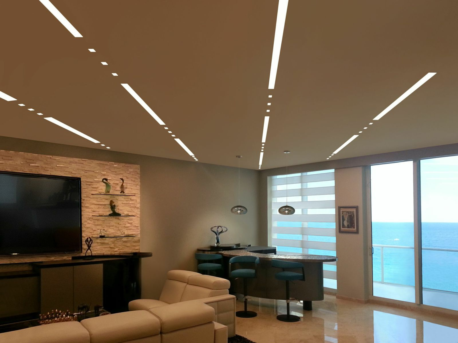 truline w vdc plasterin led system pure lighting iluminacin