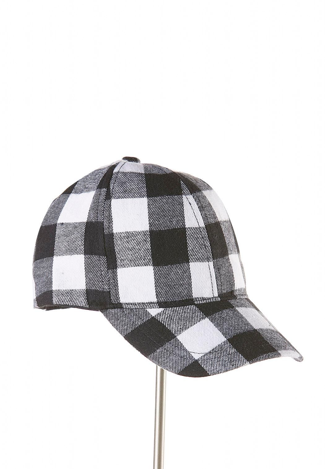 be3be331 Buffalo Plaid Baseball Hat Hats & Hair Cato Fashions | Closet style ...