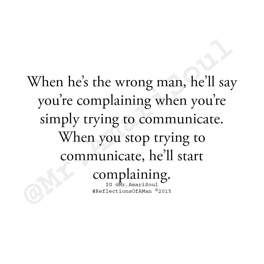When It S The Wrong Man No Matter What You Do You Re Wrong