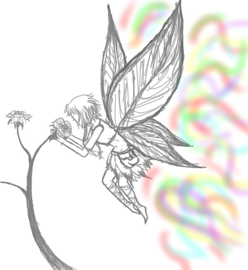 fairy sketch by jinx cat on deviantart big heart farm