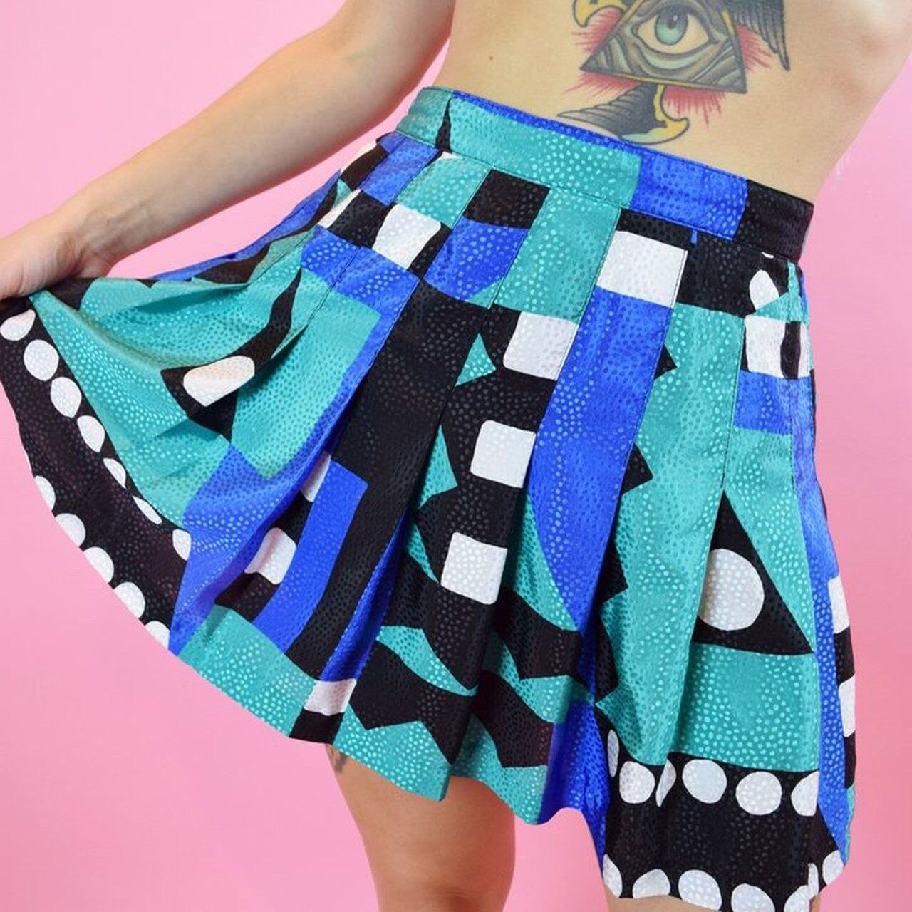 e453d2c36d Listed on Depop by owlephant   depop   Depop, Pleated mini skirt ...