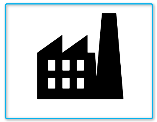 Factory Icon In Android Style Factory Icon Icon Android Icons