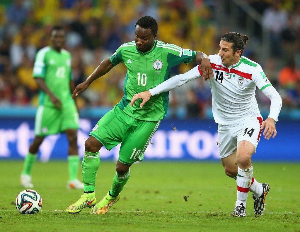 Andranik Teymourian Photos Photos Iran V Nigeria Group F Mikel Obi Obi Nigeria