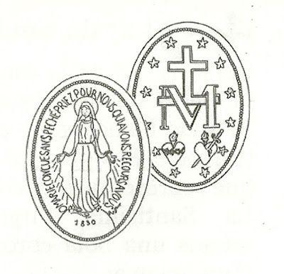 Advocaciones Marianas Nuestra Senora De La Medalla Milagrosa Miraculous Medal Tattoo Compass Tattoo Tatoos
