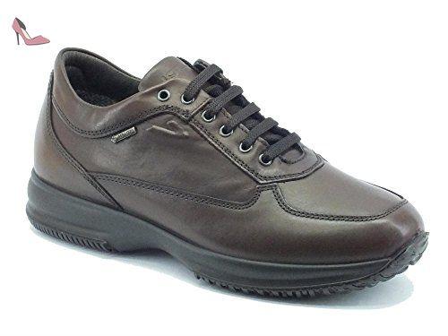 IGI & CO 47703 chaussures homme sportives hautes bottes en daim à lacets chevill X Radiant GTX® - Chaussures randonnée homme Stormy Weather / Quarry 44.2/3 LNfNIMYup3