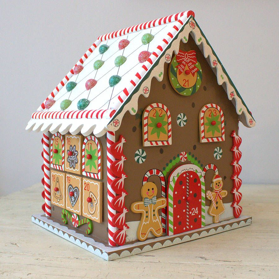 Childrens Gingerbread House Craft