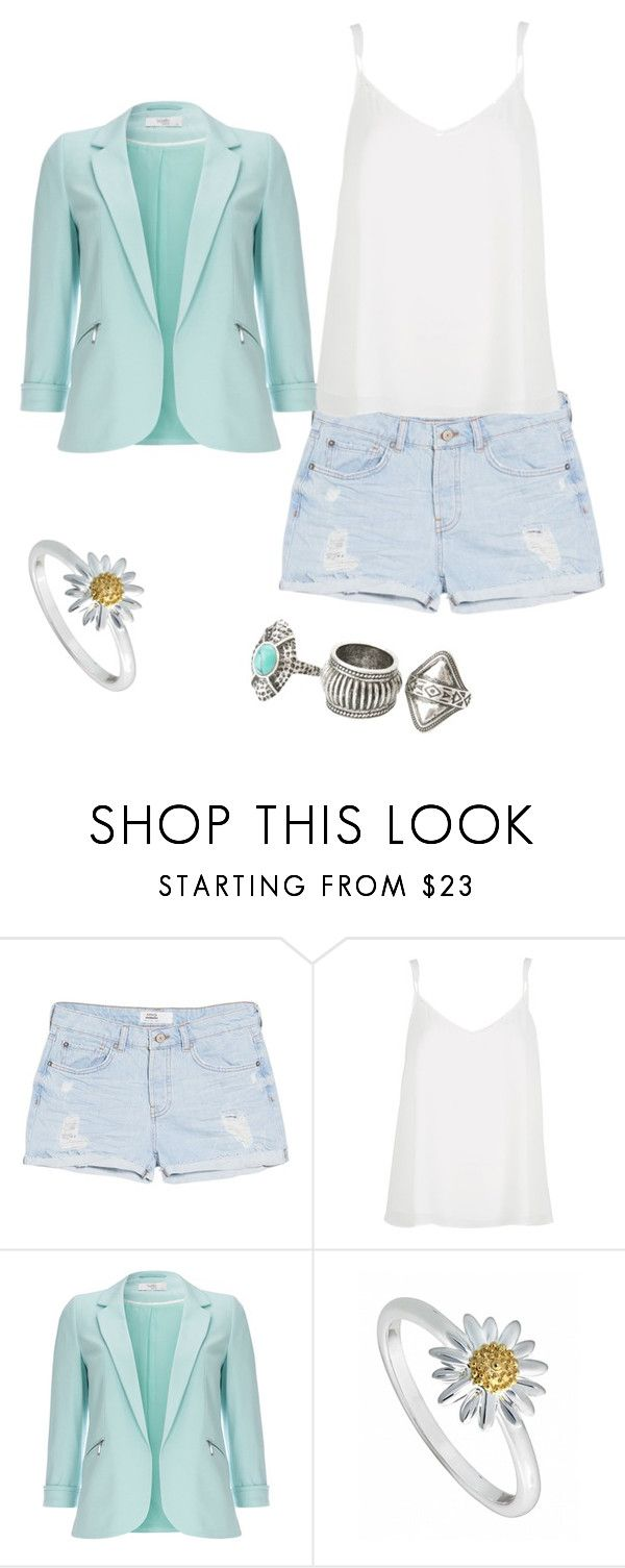 """""""Chill work"""" by daughterofspace ❤ liked on Polyvore featuring MANGO, River Island, Wallis and Daisy Jewellery"""