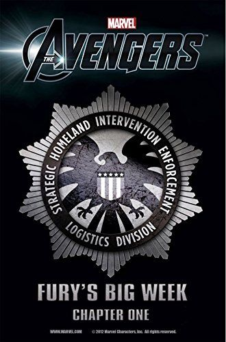Marvel's The Avengers Prelude: Fury's Big Week #1 (of 8) (Marvel's Avengers : Fury's Big Week) by Christopher Yost http://www.amazon.com/dp/B00ZMZL60Q/ref=cm_sw_r_pi_dp_sE12vb10H6V76 - his exciting foray into the official Marvel Cinematic Universe is just in time for the Avengers blockbuster movie! How will S.H.I.E.L.D. maintain the status quo in a world full of green monsters, gods, and men in iron suits?