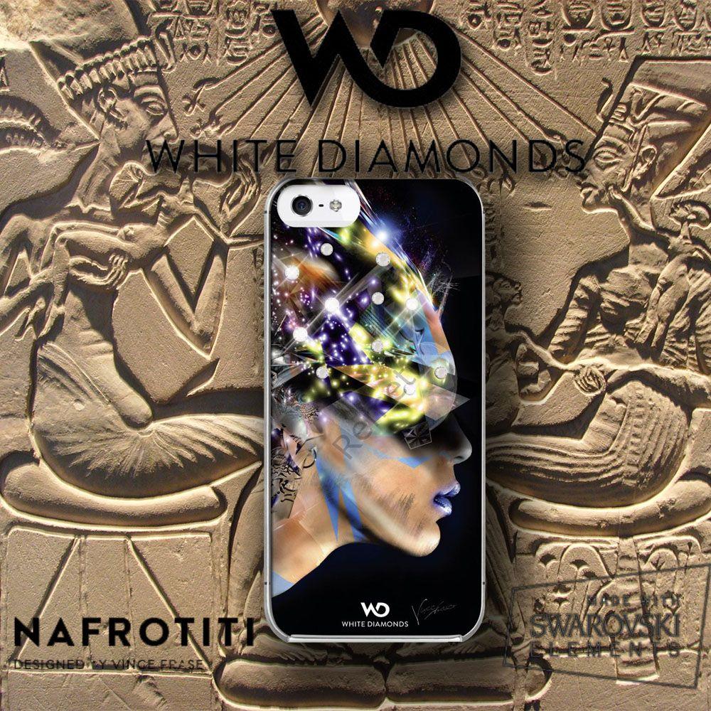 white diamonds nafrotiti #nafrotiti #iphone5 #iphone5s # kılıf #nefertiti #swarovski