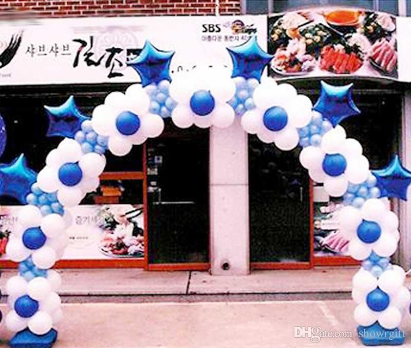 Image result for 50 balloon column Arch Pinterest Balloon