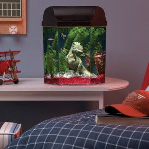 Hexagon Fish Tank Seaclear Flat Back Hexagon 10 Gallon Aquarium Starter Kit Petsmart Fish Tank Themes Fish Tank Decorations Hexagon Fish Tank