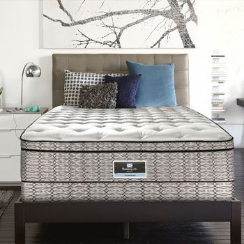 sets serta hybrid plushqueen avant width exhale products garde threshold height plush set queen mattress item canada trim