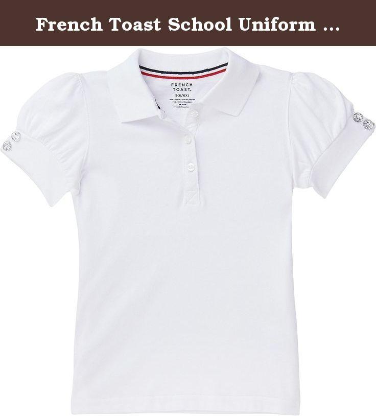 5 white Classic School Uniform Little Boys S//S Pique Polo