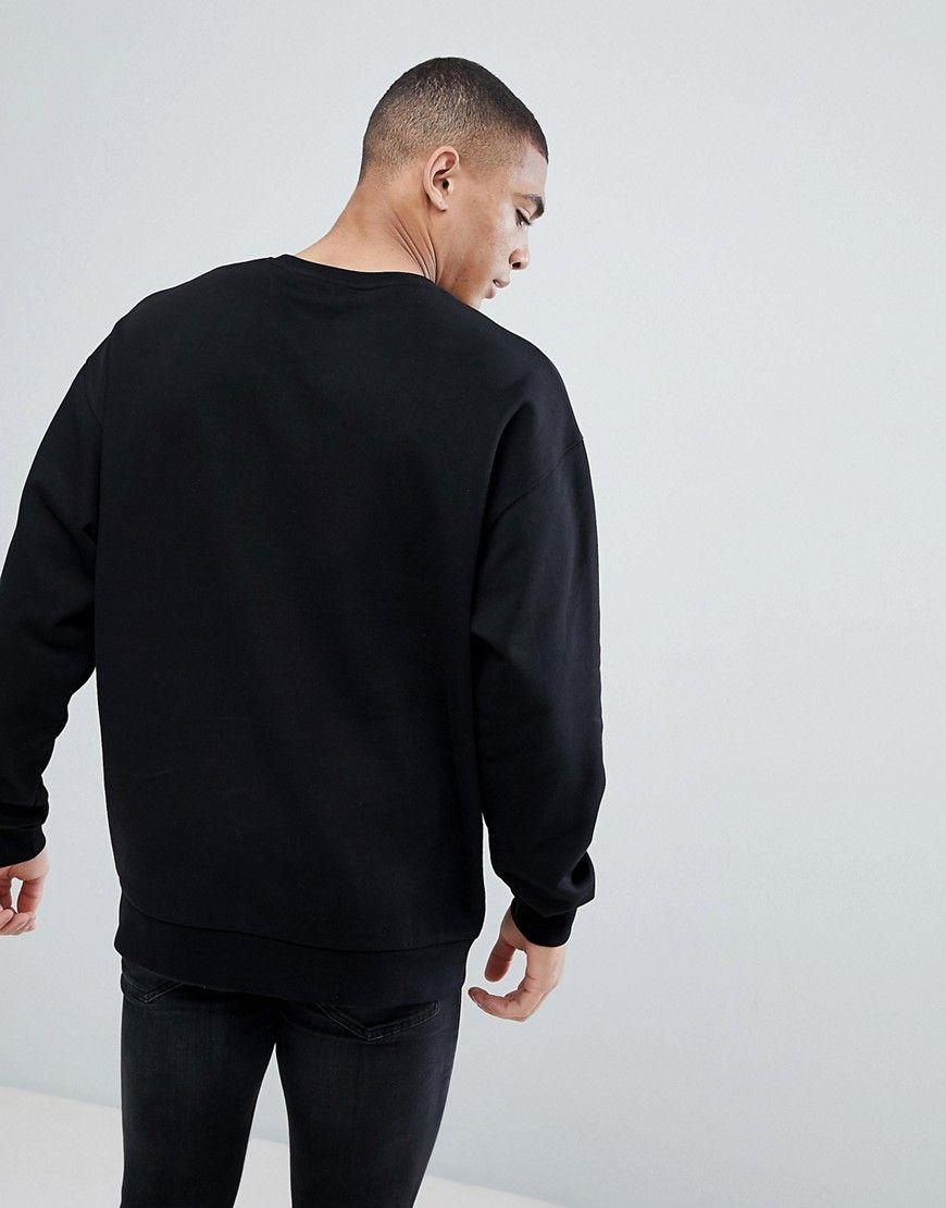 Pin By Mahdi Rezaei On Fashion Long Sleeve Tshirt Men Sweatshirts Oversized Sweatshirt [ 1110 x 870 Pixel ]