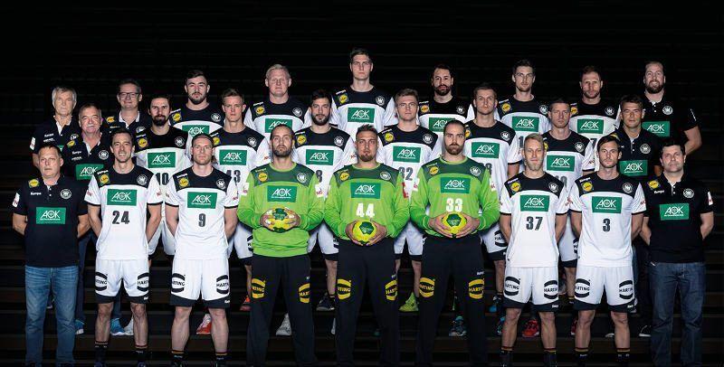 Handball Em 2020 Deutschland Dhb Manner Hinten Von