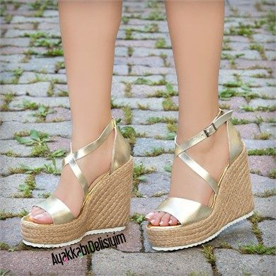 Pallone Dore Hasir Dolgu Topuk Sandalet Dolgu Topuklu Shoes Heels Dolgu Topuk Dolgu Topuk Sandaletler Sandalet