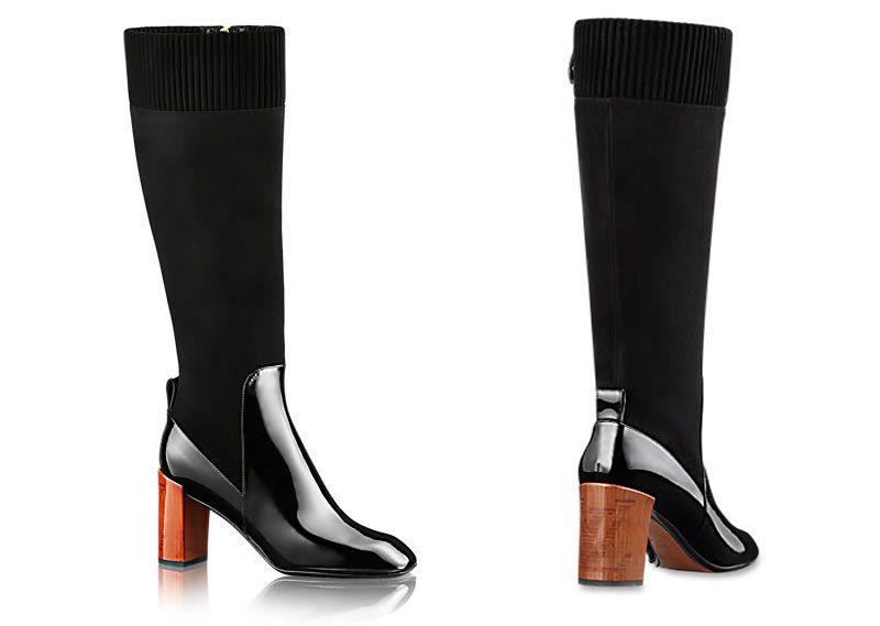As botas de inverno da Louis Vuitton
