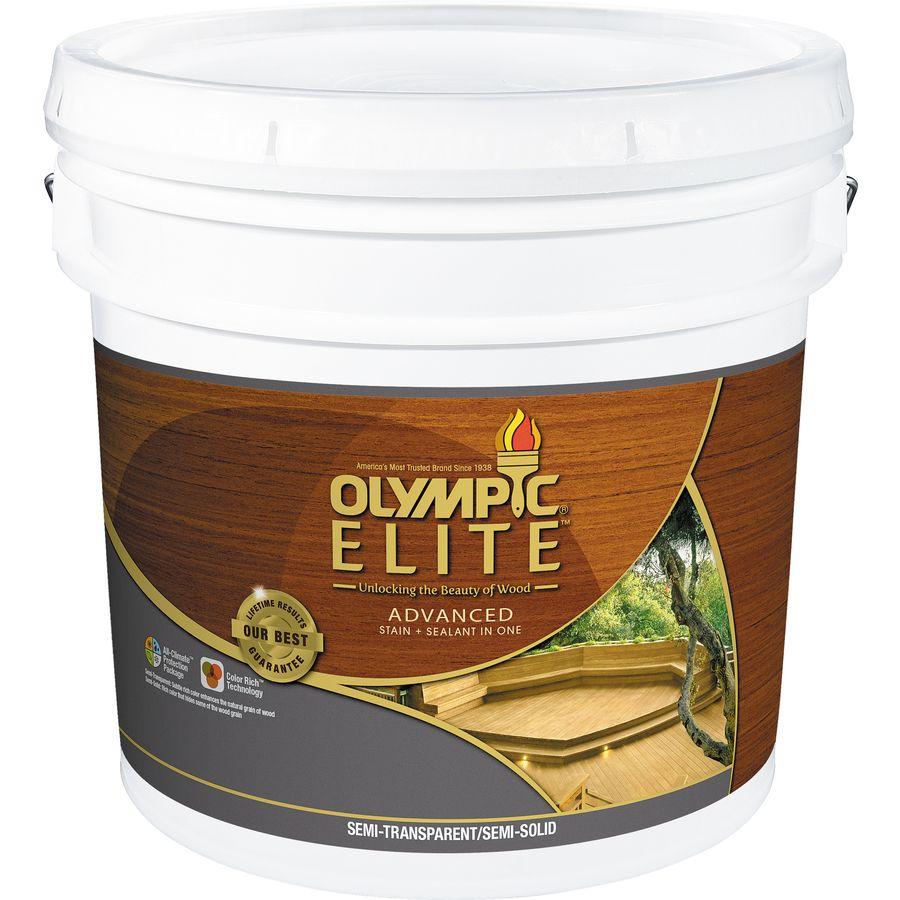 Olympic elite tintable brown base semitransparentsemi