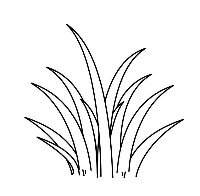 13+ Grass blades clipart black and white ideas in 2021