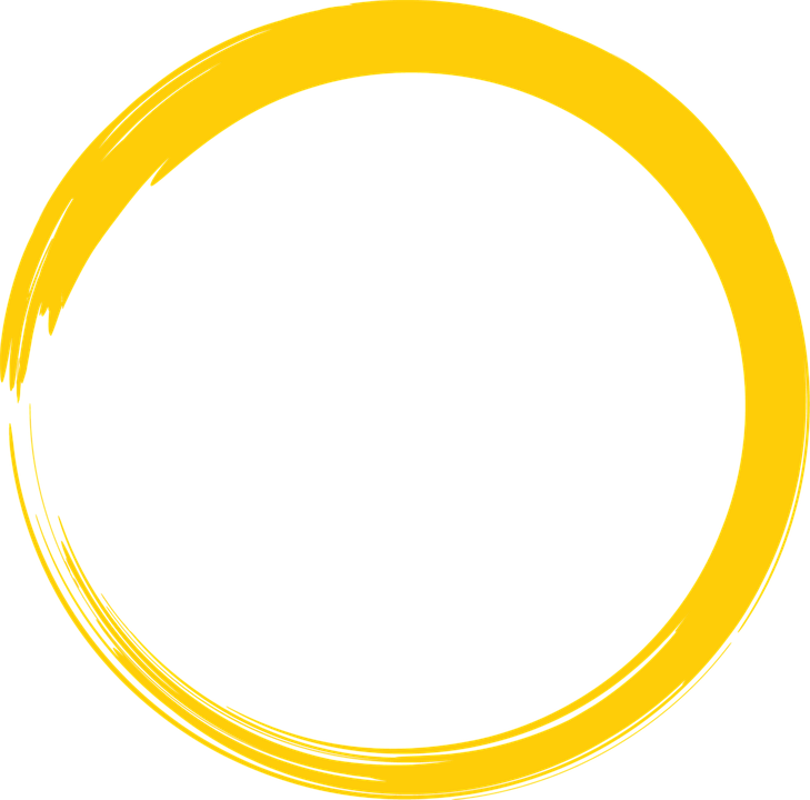 Free Image On Pixabay Yellow Round Circle Paint Brush Circle Logo Design Poster Background Design Sticker Design