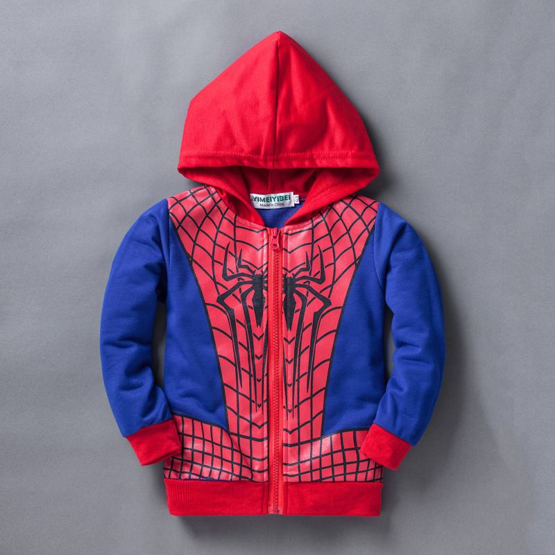 162551607 Spring Autumn Kids Jacket Baby Boys Coat Children's Clothing Cartoon Hooded  Infant Outerwear Toddler Boy Clothes 0-5Year BC1227 #Affiliate