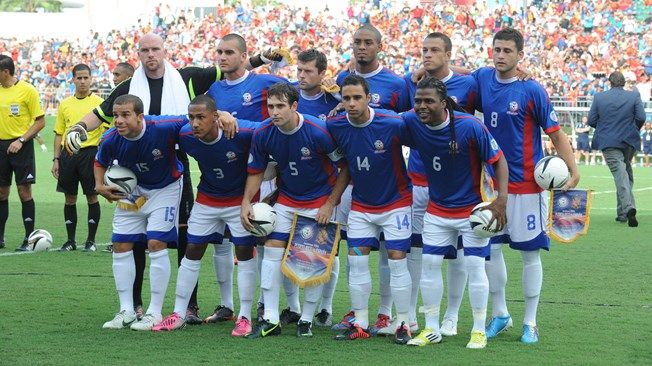 best cheap 80bbc 3df57 National team of Puerto Rico is seen prior to the ...