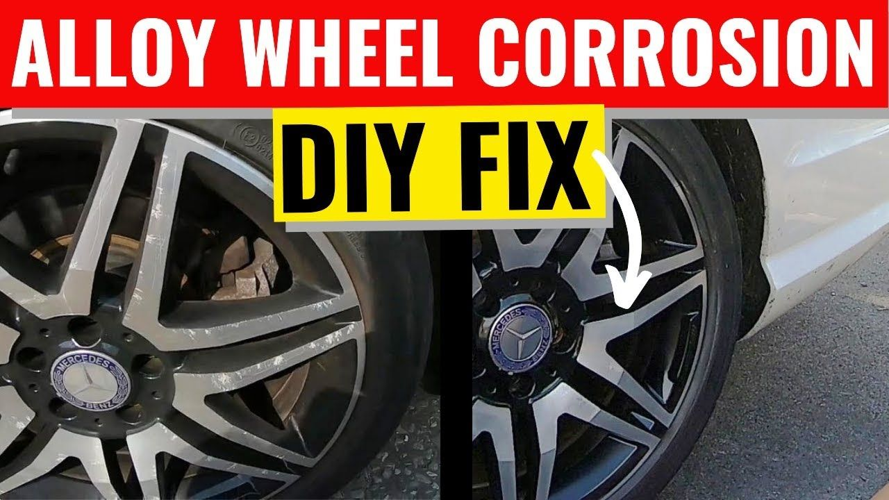 Alloy Wheel Corrosion Cleaning DIY Diy repair, Wheel