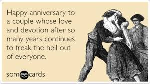 Funny Happy Anniversary Memes of 2017 on SIZZLE | Allen |True Romance Happy Anniversary Meme