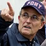 Rudy Guliani for how he handled the situation after the attack on 9/11/01