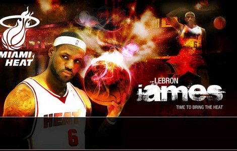 Lebron James Miami Heat Wallpaper Lebron James Miami Heat Miami Heat Lebron James Images