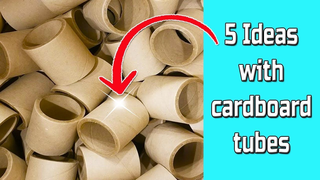49+ Thick cardboard tube crafts ideas