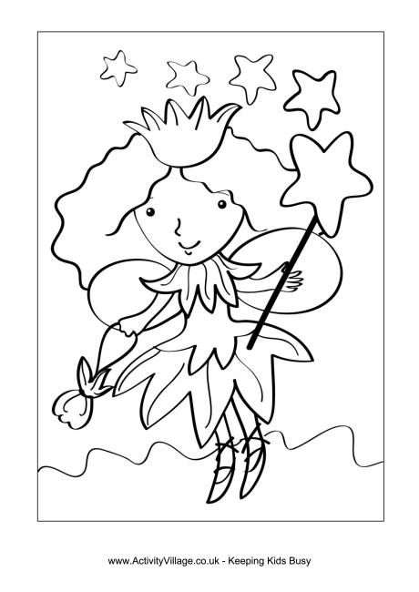 We Have Some Pretty Fairy Colouring Pages For You To Print And Enjoy With Your Children Our Fairies Play In The Garden Sweep Their House
