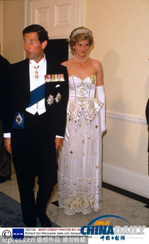 戴安娜王妃礼服拍卖