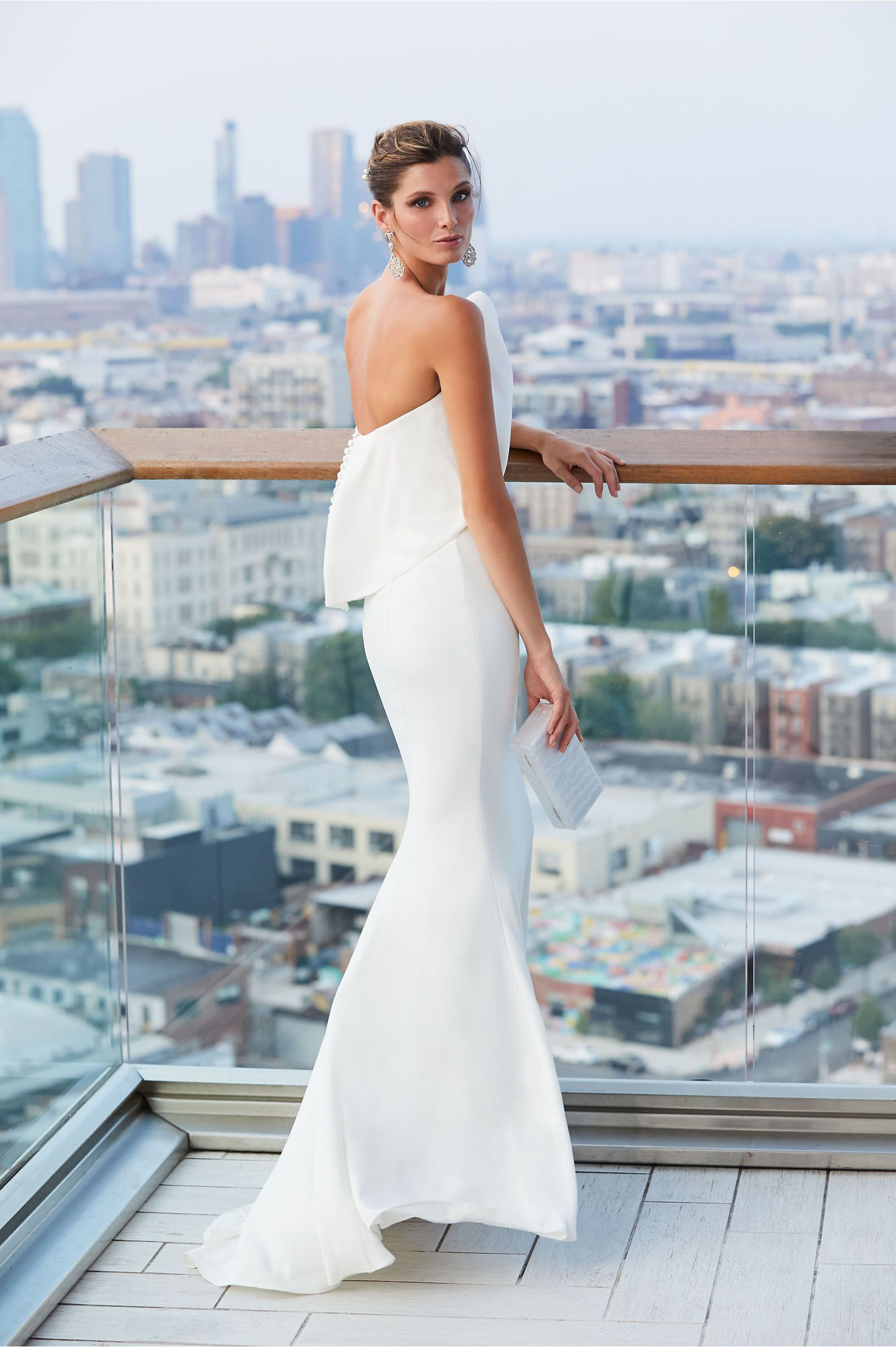 33ca75bd803 Gramercy Gown Ivory in Bride