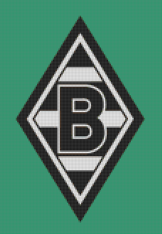borussia gladbach  vereine logos muster  pinterest
