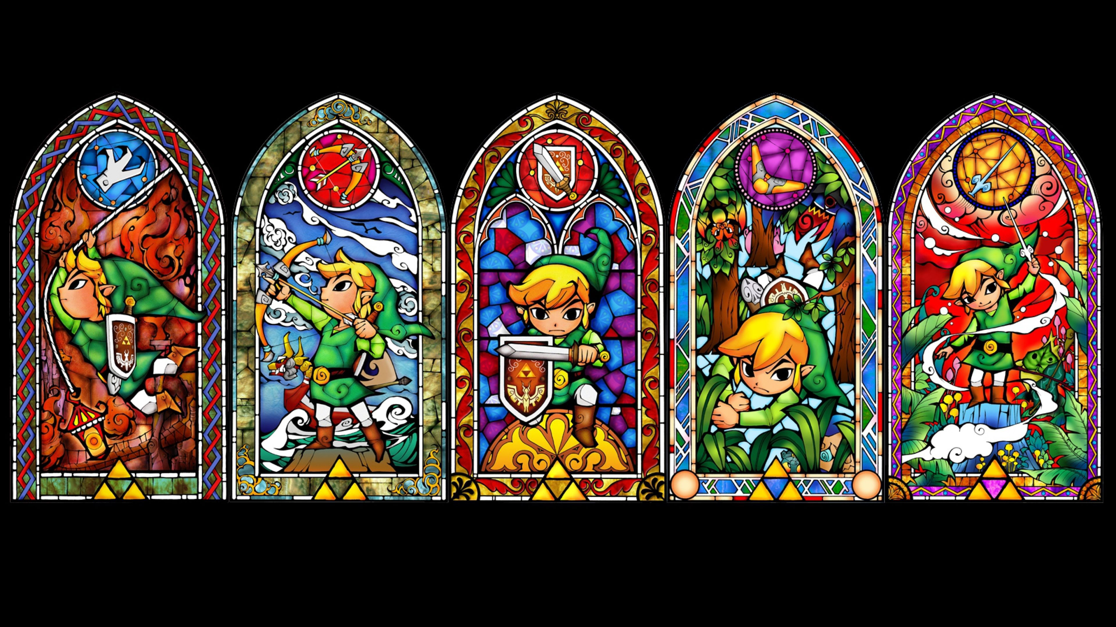 The Legend Of Zelda Windows Elf Character Link 22308 3840x2160 Jpg 3 840 2 160 Pixels Wind Waker Legend Of Zelda Map Art