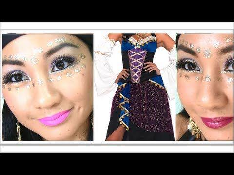 ✿ GYPSY MAKEUP TUTORIAL ✿ (Halloween Makeup, Interactive Video ...