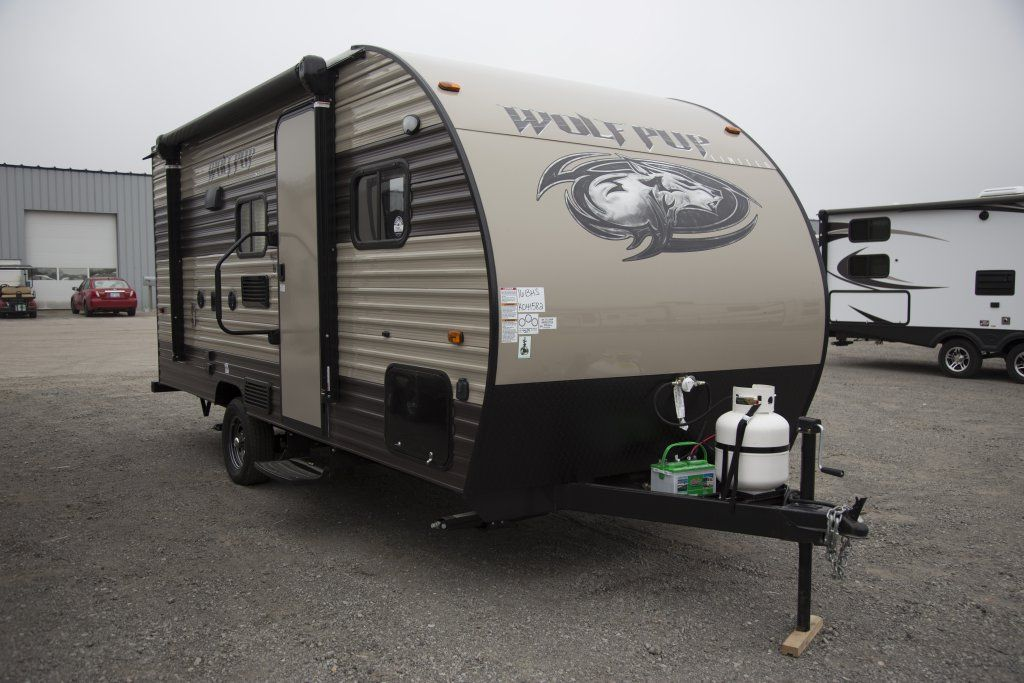 2018 Forest River Wolf Pup 16bhs Floor Plan Travel Trailer
