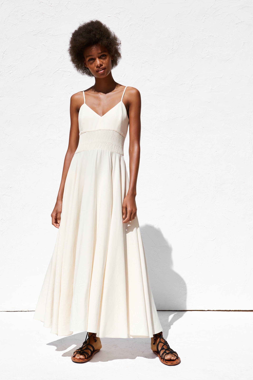 zara - woman - rustic dress | rustikale kleider, kleid mit