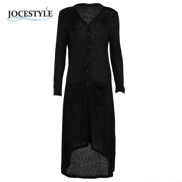 ba51ef60570 Cardigan Women 2018 Autumn Loose Sweater Long Sleeve Knitted Outwear ...