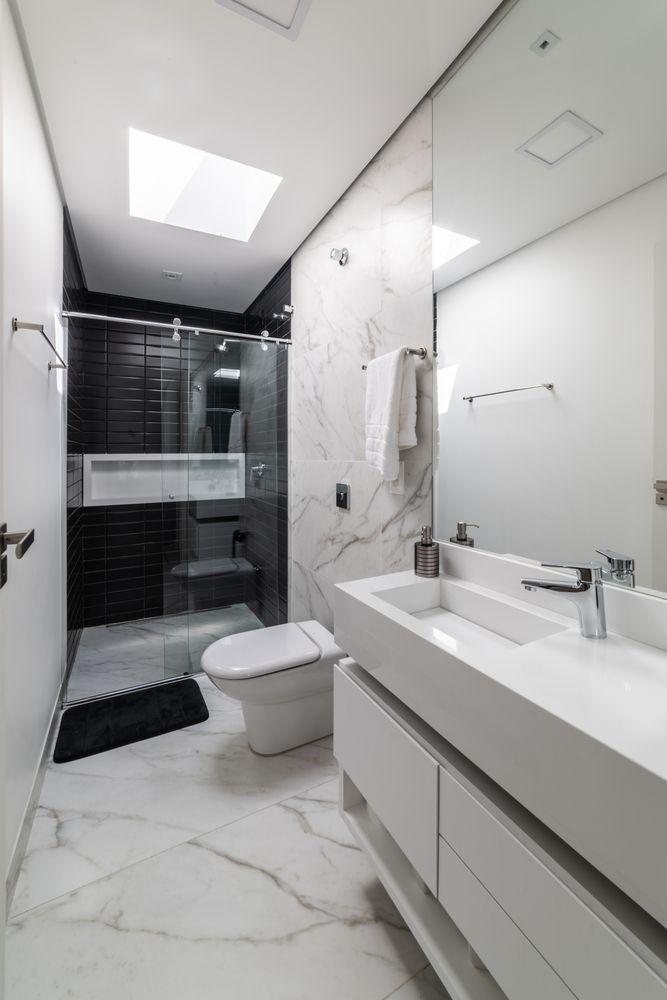 Gallery Of Osh House Otp Arquitetura 17 Bathroom Interior Design Bathroom Design Small Modern Small House Design