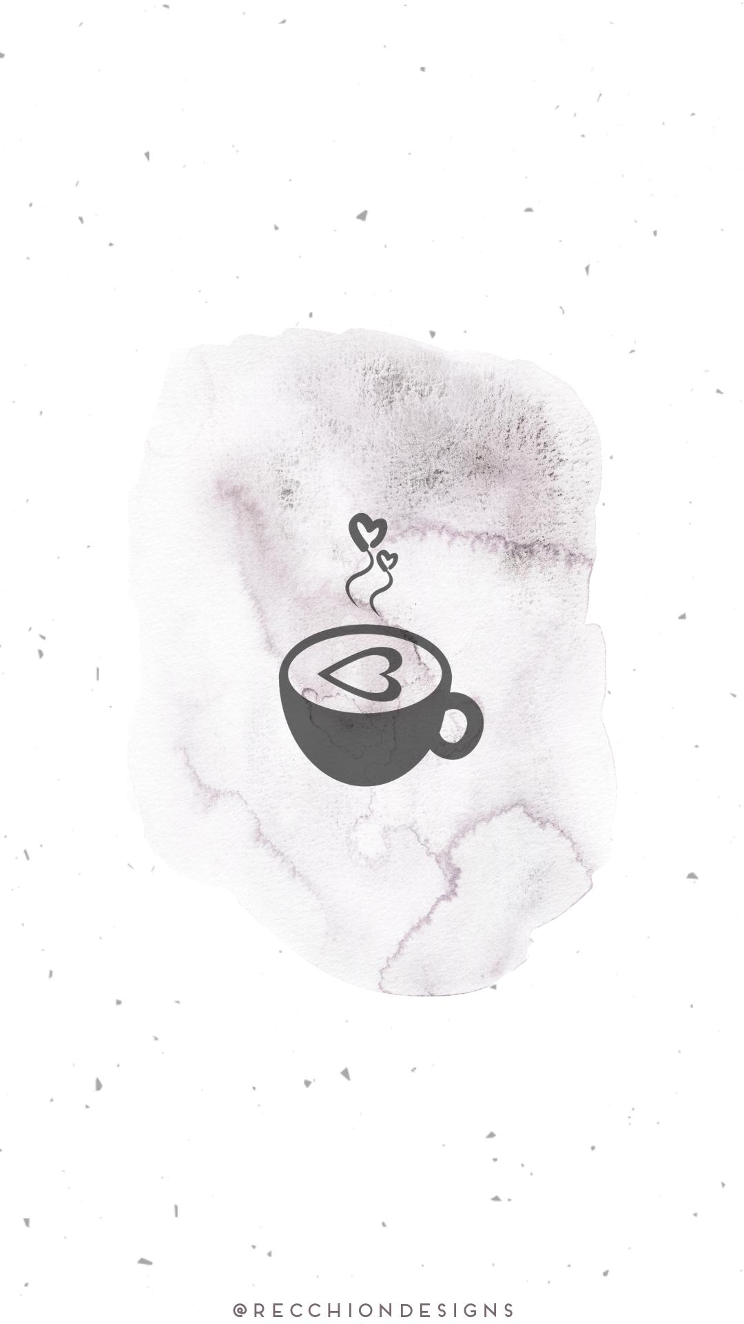 Purple Watercolor & Spackle in 2020 Instagram icons