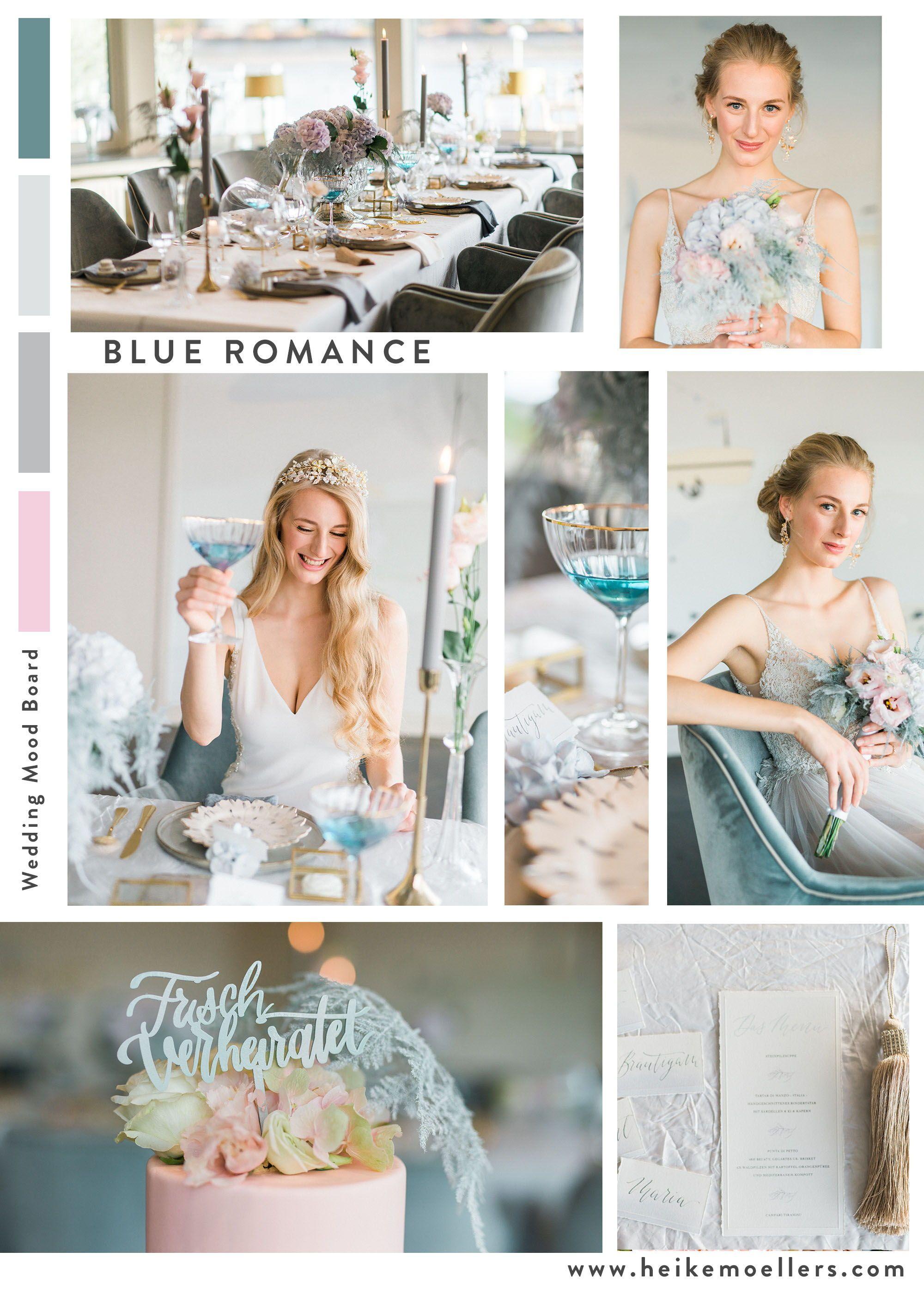 Wedding Romance in blue