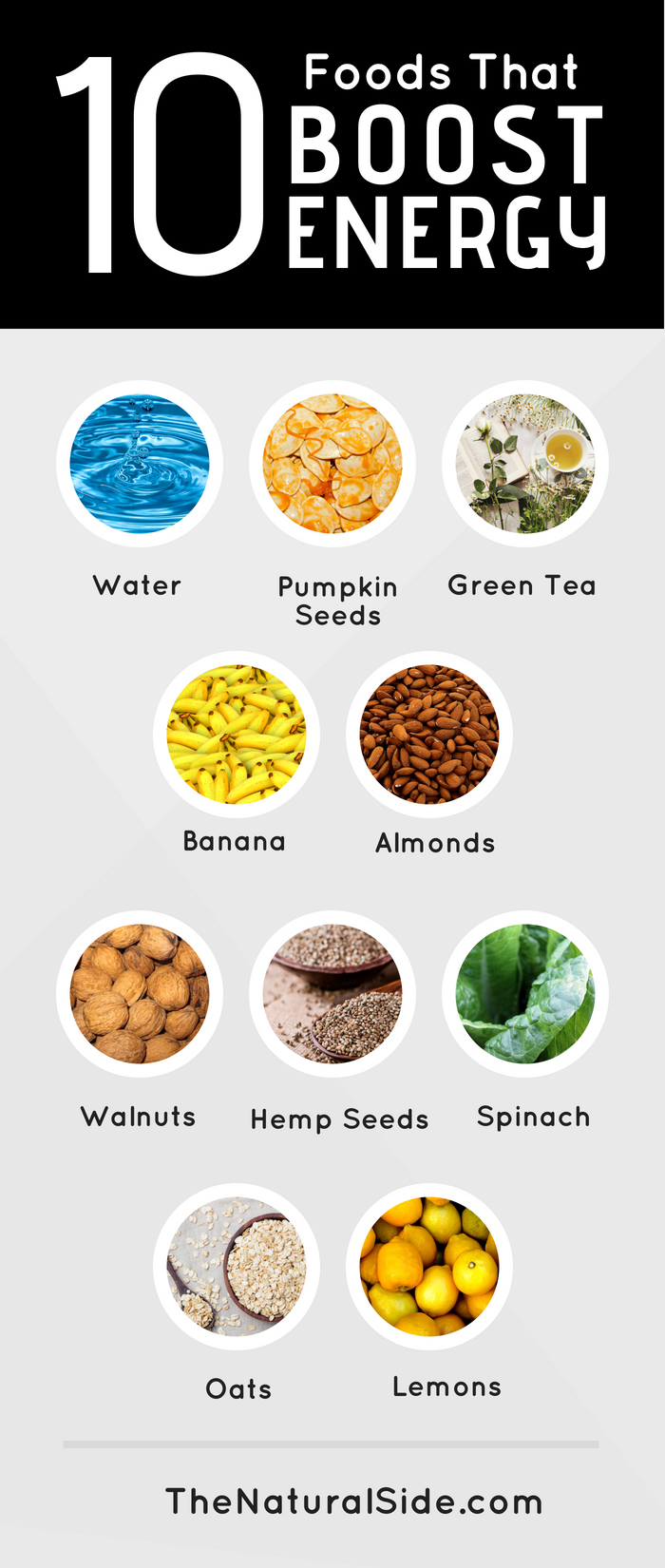 10 Foods That Can Give You More Energy Energy Foods Healthy Energy Foods High Energy Foods