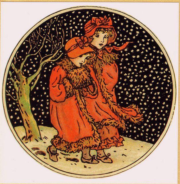 """""""December"""" by Kate Greenaway"""
