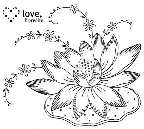 Hundreds of Vintage Transfer Finds for embroidery! | desenler ...