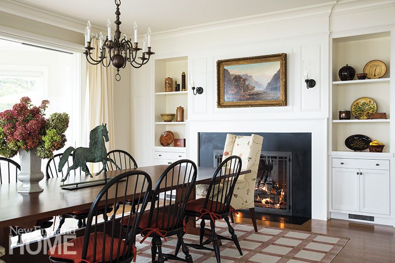 Sweeping Beauty Colonial Dining Room House And Home Magazine