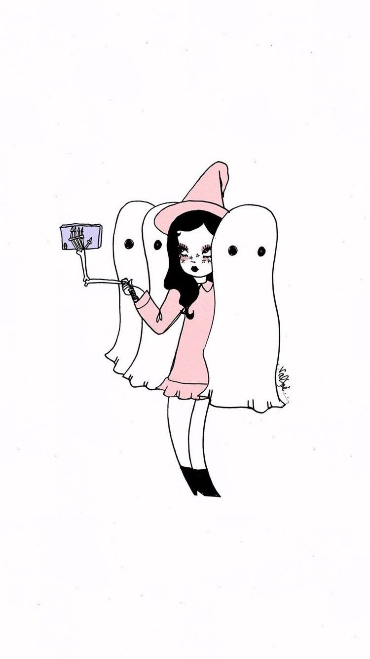 Scream-fie Halloween phone wallpaper #Halloween #HalloweenWallpaper #halloweenbackgroundswallpapers
