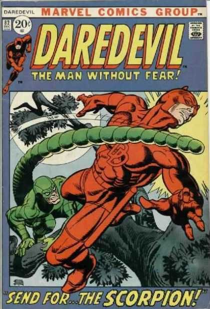 Gil Kane Daredevil 82 | Comics, Daredevil comic, Marvel comic books