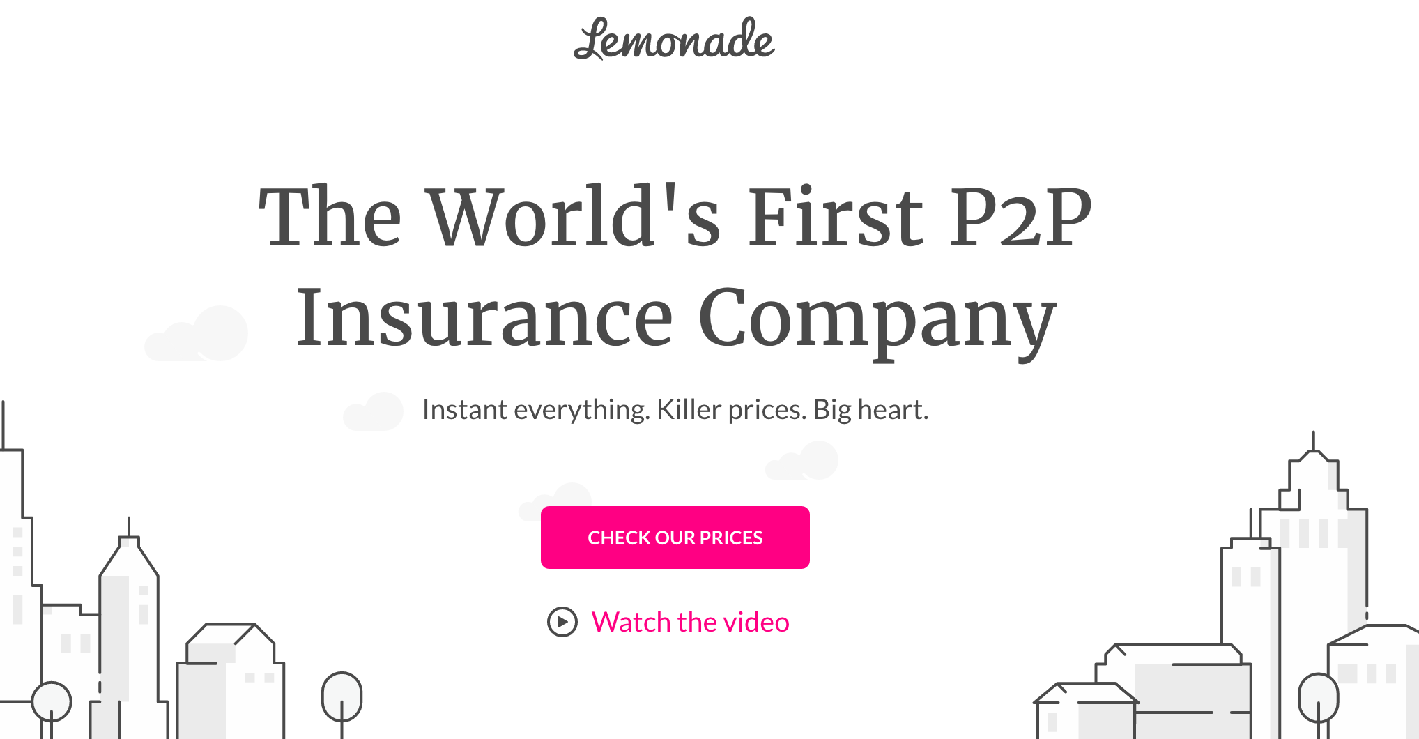 Lemonade, the peertopeer insurtech startup that launched